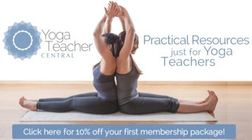 Yoga Teacher Central sidebar