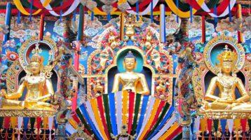 Buddha and boddhisattvas